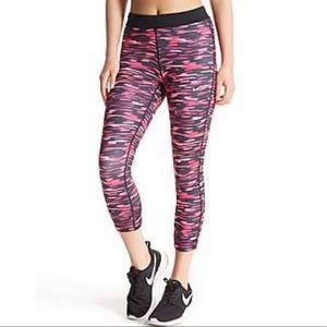 Nike Relay Pink/Black Camo Running Tights -XS